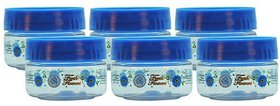 Pack of 6 G-PET Blue Plastic Container 50 ml