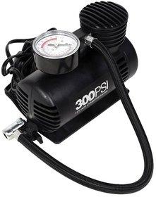 Carpoint Air Compressor Portable Tyre Infiltrator - Black