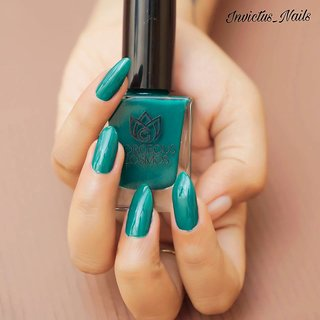 Gorgeous Cosmos Classic- Pine Green Shade Toxic Free Nail Polish