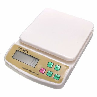 Digital Kitchen Weighing Scale SF400A with 10 kg Max Capacity by ganapatistore7777