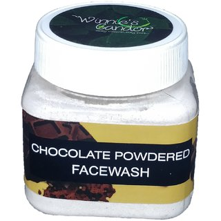 Winnie's Candor Natural Handmade Handcrafted Homemade chocolate  Powder Herbal Cleansers Face Wash