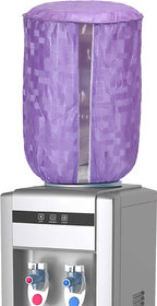 E-Retailer Purple Standard Size PVC Water Dispenser Bottle Cover With Water Lavel Indication (Purple, For 20 Ltr)