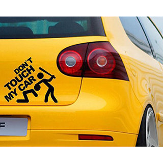 Buy Gutargoo Dont Touch My Car Vinyl Decal Motorbike Sticker Vehicle