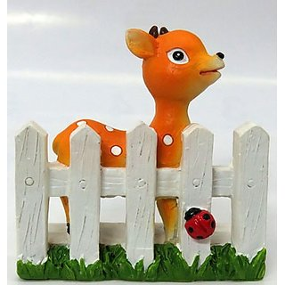 Buy Wonderland 2 2 Inches Deer On Fence Decoration Mini Terrarium