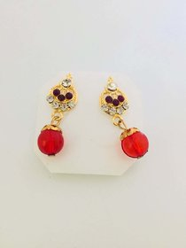 golden Ear Rings Alloy