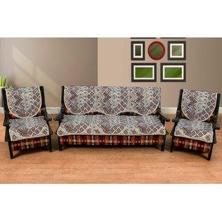 Manvi creations latest design cotton sofa cover