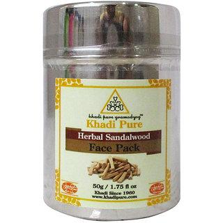 Khadi Pure Herbal Sandalwood Face Pack - 50g