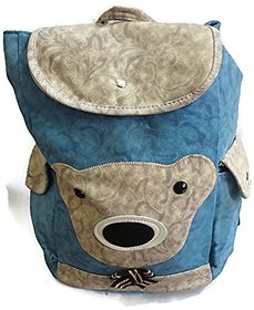 Avani Stylish Attractive Women/Girl Canvas Backpack Handbag( Light Blue)