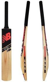 Retail World NB Black Selected Poplar Willow Tennis Cricket Bat