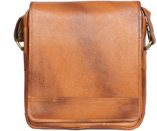 OBANI Genuine Leather Laptop Messenger Bag TL39