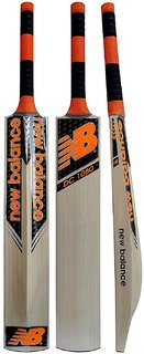 Retail World NB Orange Selected Willow Tennis Cricket Bat (Grip color may vary) Qty-1