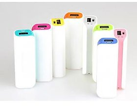 Lionix Stylish PowerTube 2200 Mah Power Bank(Assorted)