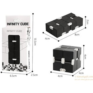 Shivsoft Infinity Cube Fidgets Stress Relief Toys For Adult And Small Child Gift Rubik's Cube Cool Stress Reliever Magic