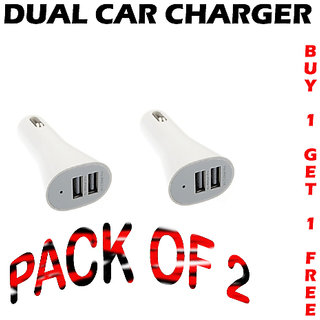 Combo Of  2 MICRO USB CAR CHARGER CodeBk-0741