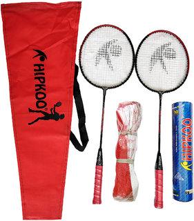 Hipkoo Badminton Kit (Red Cover)