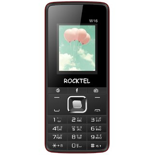 ROCKTEL W16 MOBILE PHONE 1.8 WITH HEAD PHONE WIRELESS FM RADIO Dual Sim BIS Certified Made in India