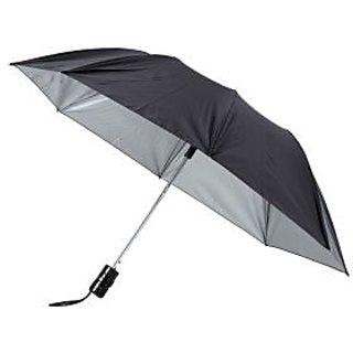 Unique Black Nylon Cloth Umbrella (2 Fold)