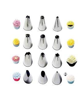 kudos  Set Of 12 Cake Nozzles Cake Decoration Pastry Nozzle