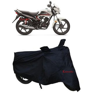 Buy Ramanta Polyster Bike Body Cover With Mirror Pockets For Honda Dream Yuga Color Black Pack Of 1 Online Get 62 Off