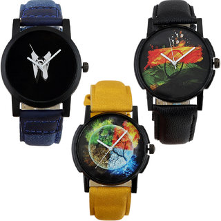 Shostopper Vintage Collection Combo Watches for Mens SJ296WCB