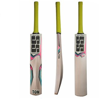 SS Ton Kashmir Willow Bat With Free Cover