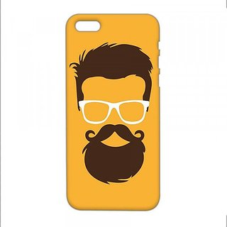 competitive price 8d83c 1da0c Beard 3D design iphone 6/6s mobile back cover