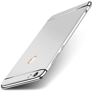 info for 35097 a0757 Vivo V7 Plus Back Cover 3IN1 Chrome Back Case Cover for Vivo V7 Plus  (Silver) By Vinnx