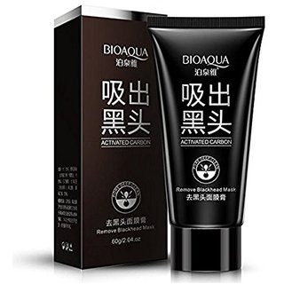 GutarGoo BIOAQUA(2 Pack,120g) Activated Charcoal Carbon Peel Off Diy Purifying Black Mask For Blackhead Whitehead Pores
