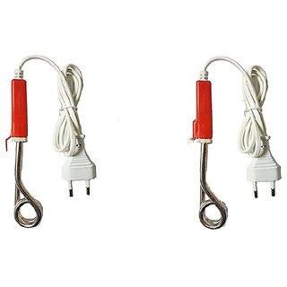 TheKS Electric Mini Small Coffee/Tea/Soup/Water/Milk Heater Boiler Immersion Rod (Pack of 2)