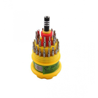 Jackly 31 In 1 Screw Driver Set (Magnetic Tool Kit)