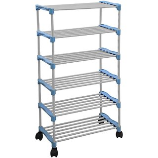 Urban Shopiee Smart Shoe Rack with 6 Shelves/ 6 LAYER SHOES STAND (Lifetime Warranty MADE IN INDIA)