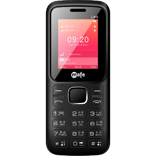 MAFE LEO  DUAL SIM, 1.8 INCH DISPLAY, 1050mAh BATTERY, FM WITH RECORDING, TORCH (BIS CERTIFIED)