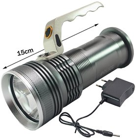 3Mode Long Beam CREE Rechargeable LED Waterproof Flashlight Flash Light Torch-02