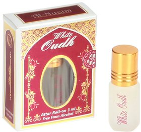 Al-Nuaim White Oudh Original ATTAR Non-Alcoholic Roll On For Men and Women