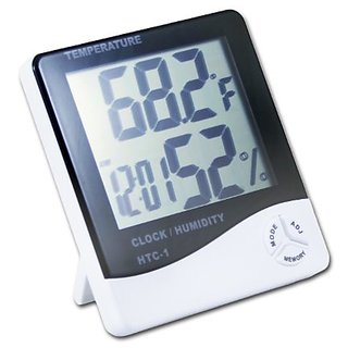 LCD Display Thermometer Clock and Hygrometer