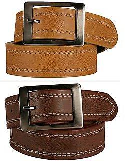 Chingru Pack Of 2 Belts Combo