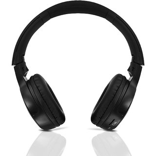 ec1b4a23f1b IBL Bluetooth Over the Head Headphone with Mic and Heavy Bass Sound (Z  Black)