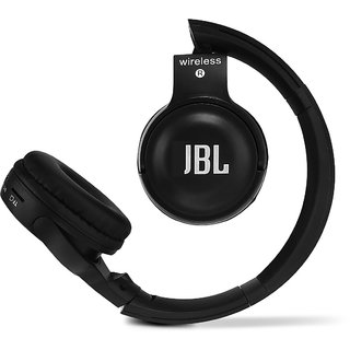 1ddbe8fadde IBL Bluetooth Over the Head Headphone with Mic and Heavy Bass Sound (Z  Black)