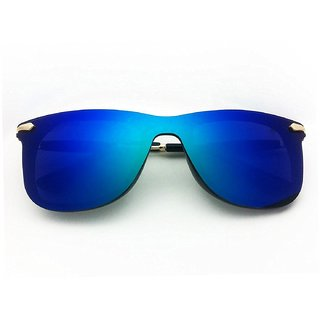 29K Blue Mirrored Wayfarer Sunglasses
