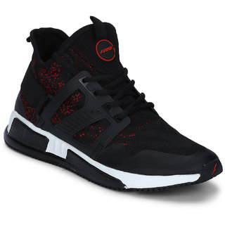 Furo Sports By Red Chief Black MenS Walking Shoes (W3010 134)
