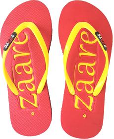 Zaare Women Flip-Flops And House Slipper - Embossed Bra