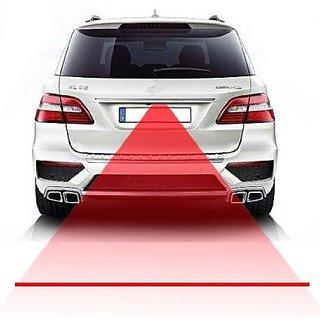 OMCY Imported Car Keep Distance Hazard Laser Fog Light For Maruti Ritz
