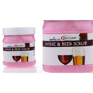 Biocare wine And Beer Facial  Scrub