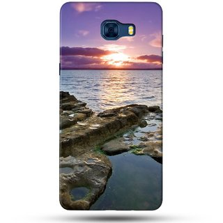 PREMIUM STUFF PRINTED BACK CASE COVER FOR SAMSUNG GALAXY C7 PRO DESIGN 5127