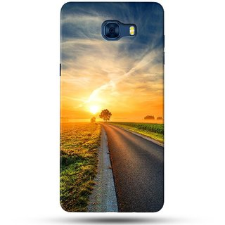 PREMIUM STUFF PRINTED BACK CASE COVER FOR SAMSUNG GALAXY C7 DESIGN 5026