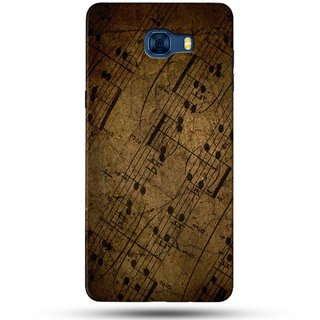 PREMIUM STUFF PRINTED BACK CASE COVER FOR SAMSUNG GALAXY C7 DESIGN 5716