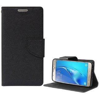 Samsung A5FlipCoverMercury Dairy & Wallet Case (Black) By Arrowmattix