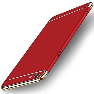 the best attitude 97d34 c032b Oppo A83 Back cover, Oppo A83 Case, Ultra-thin 3in1 Eventual Series New  Luxury 360 Degree Protection back cover case For Vivo Oppo A83 - Red with  Gold ...