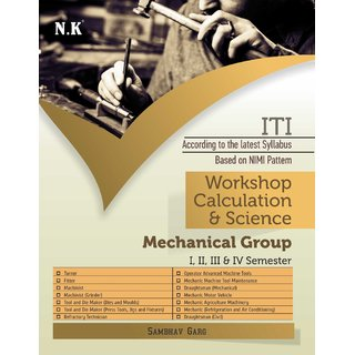 Workshop Calculation  Science Mechanical Group I-IV Sem.