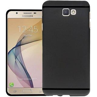 Samsung J7Prime Black Ultra Protection Rubbrished Premium Back Cover